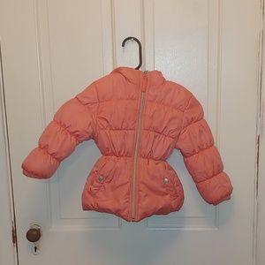 Pink Platinum puffer coat size 4t